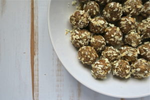 Raw Vegan Date Hemp Coconut Balls with a Twist