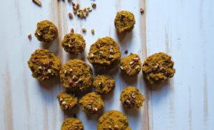 Ginger Pear Turmeric Muffins