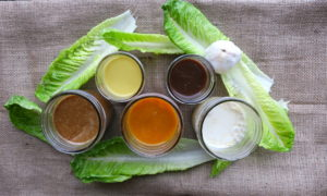 5 Oil-Free Vegan Salad Dressings
