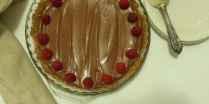 No-Bake Spicy Chocolate Cream Pie