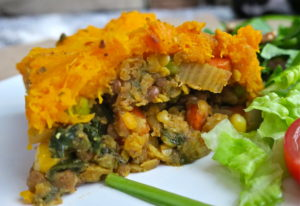 Vegan Butternut Squash Shepherd's Pie