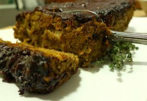 Apricot Butternut Squash Lentil Loaf | Vegan | Oil-Free | Salt-Free