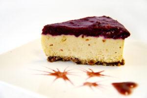 Hooked On People: Café by Tao + Raw Lemon Blueberry Cake