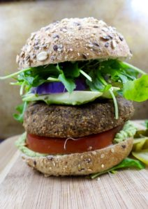 Tarragon Black Bean Sweet Potato Burgers | No Pre-Cooking Needed