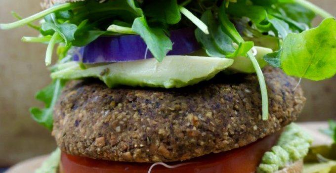 Tarragon Black Bean Sweet Potato Burgers | No Pre-Cooking Needed