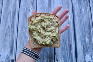 Chickpea No-Tuna Wrap with Avocado | Vegan Lunch Box