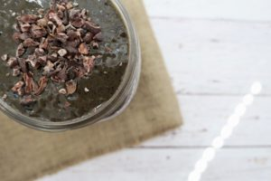 Chocolate Blueberry Turmeric Smoothie