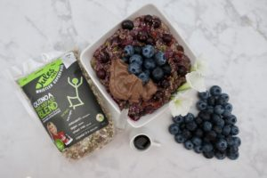 Blueberry Maple (Jules Fuel) Quinoa Oatmeal
