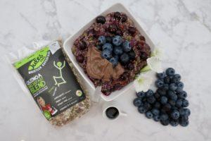 Blueberry Maple (Jules Fuel) Quinoa Oatmeal