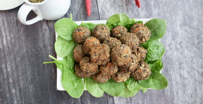 Meatless Balls + Mushroom Gravy | Oil-Free Vegan Thanksgiving Main
