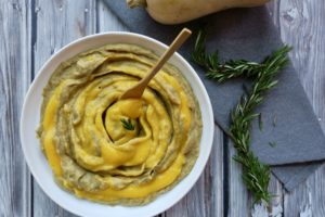 Mashed Potato Butternut Swirl | Vegan Holiday Side