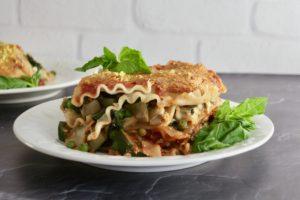 Next Level Vegan Lasagna with Creamy Tofu Ricotta