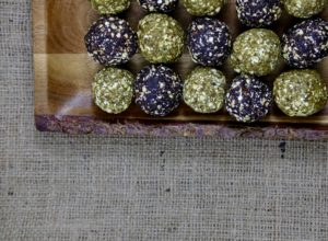 Jules Fuel Buckwheat Bliss Balls | Blueberry Cacao or Matcha