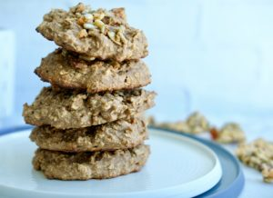 Chewy Vegan Chickpea Coconut Cluster Cookies | Gluten-Free