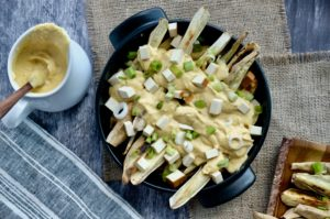 Nacho Cheeze Fries… with a secret ingredient | Vegan + GF
