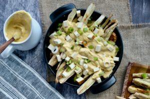 Nacho Cheeze Fries… with a secret ingredient | Vegan + GF