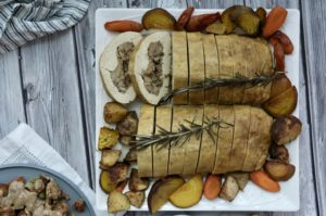 Grateful Fred Stuffed Tofu Turkey | Vegan Holiday Feast