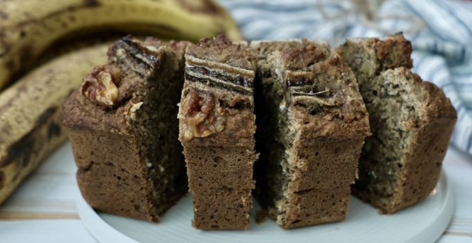 Easiest Walnut Banana Bread | Vegan + Gluten-Free