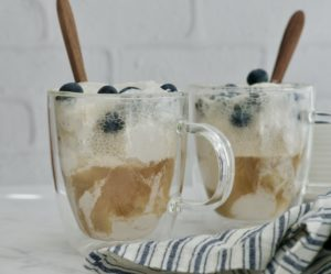 Ginger Coconut Kombucha Float