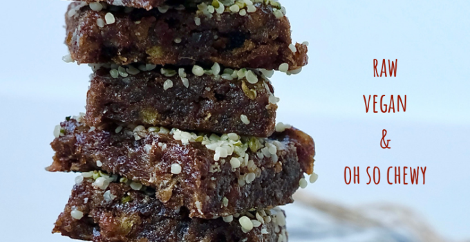 Raw Chewy Hemp Date 2-Bite Brownies | Vegan Adventure Snack