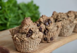Protein-Packed Vegan Almond Banana Muffins | Gluten-Free
