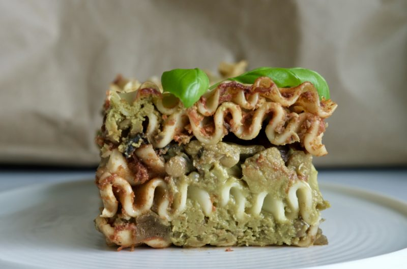 The Green Vegan Lasagna