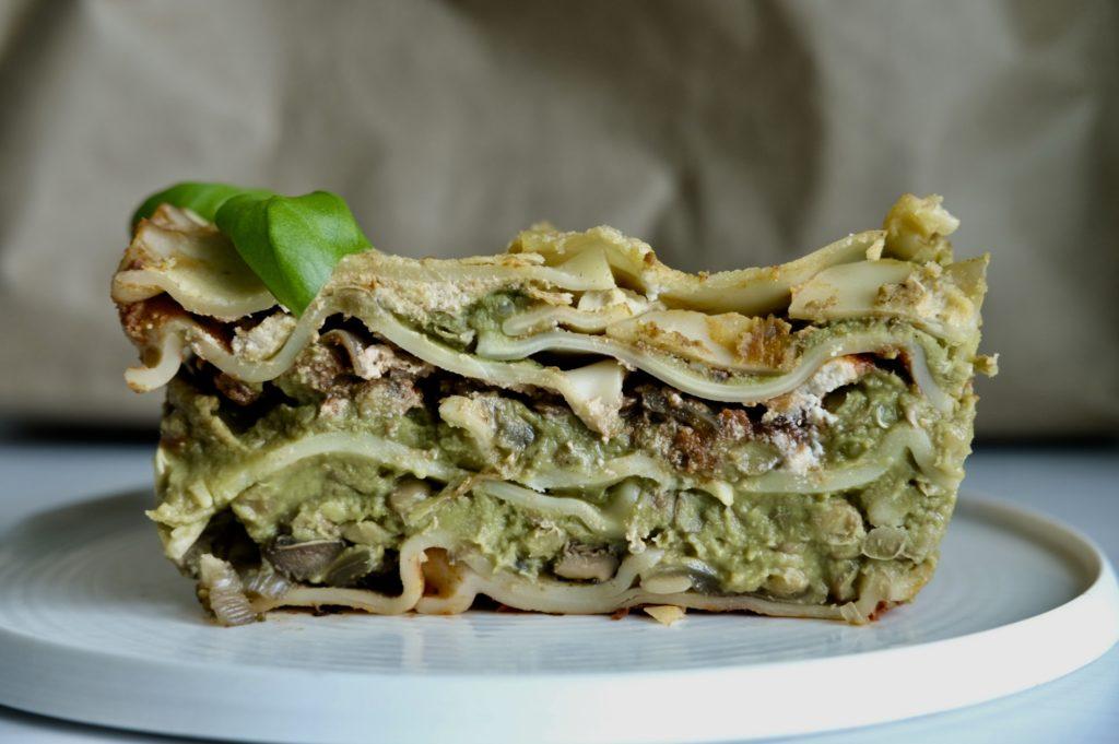 The Green Vegan Lasagna