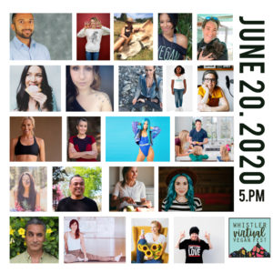 Whistler Virtual Vegan Fest June 20th